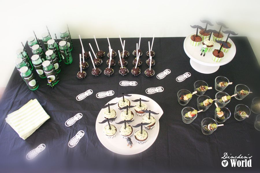 sweet table agentenparty by dinchensworld.de