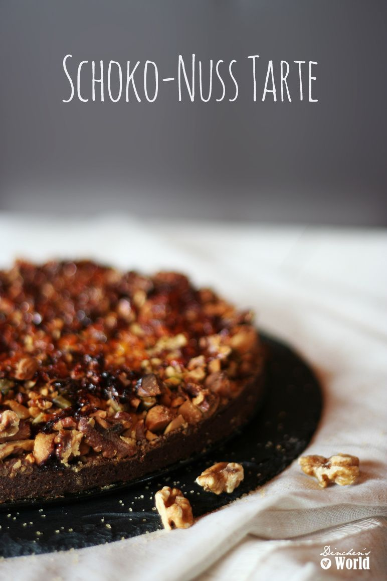 schoko-nuss-tarte by dinchensworld.de