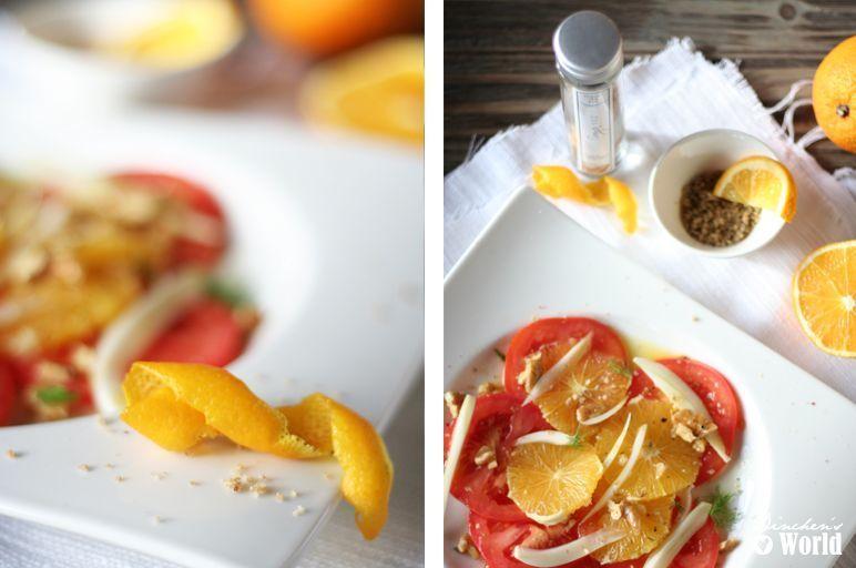 salty-salad mit tomaten, fenchel und orangen by dinchensworld.de