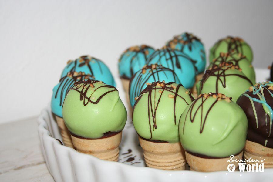Cake pop eis dinchen s food feelings - Cake pops 50 geburtstag ...