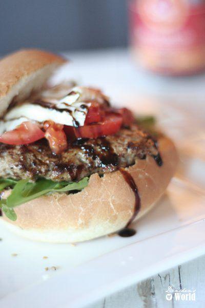 Bruschetta-Burger – Fast Food mal anders …