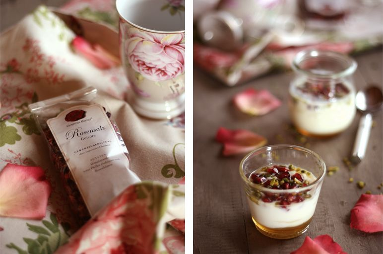 Foodblog I Rezept I Rosen-Dessert by dinchensworld.de
