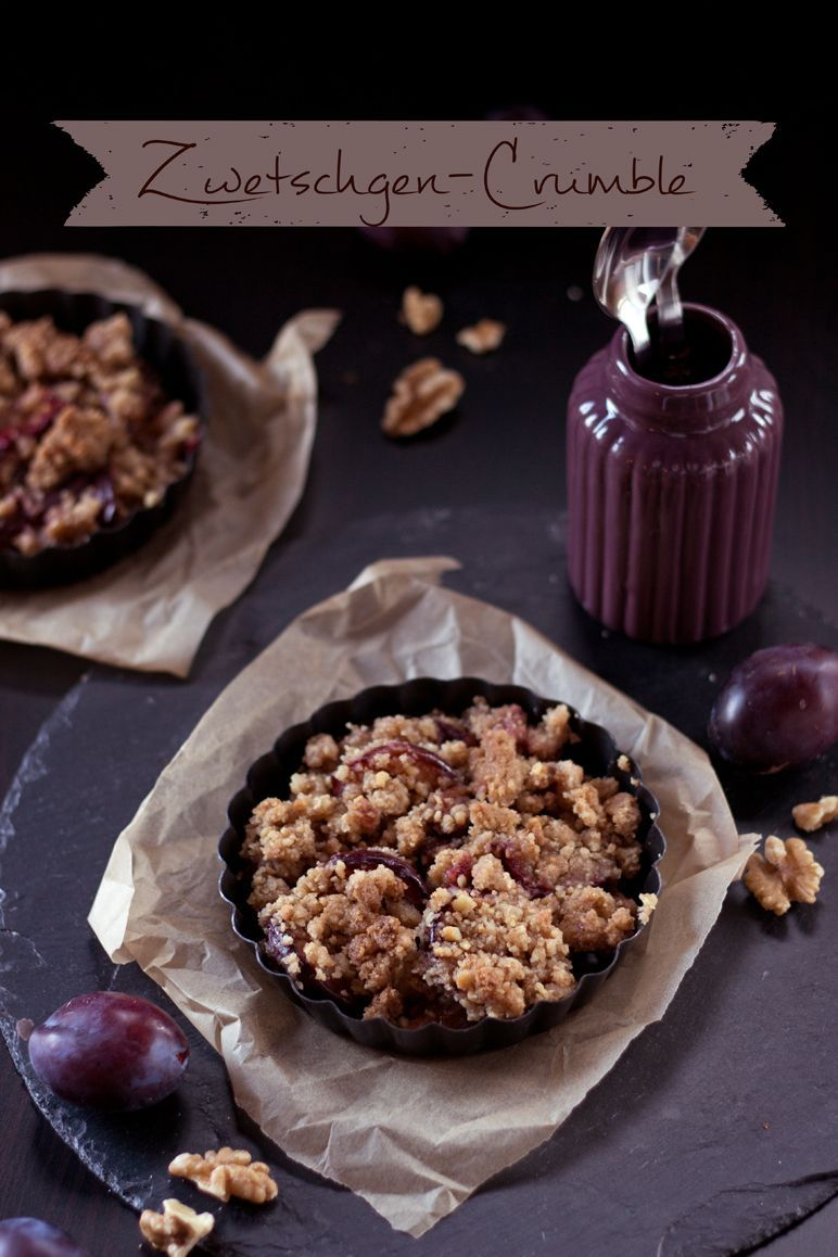 Rezept Pflaumen-Crumble I Foodblog I dinchensworld.de