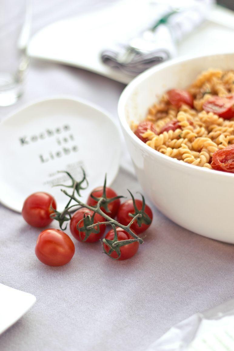 Rezept Tomaten-Nudel-Salat I Foodblog Idinchensworld.de