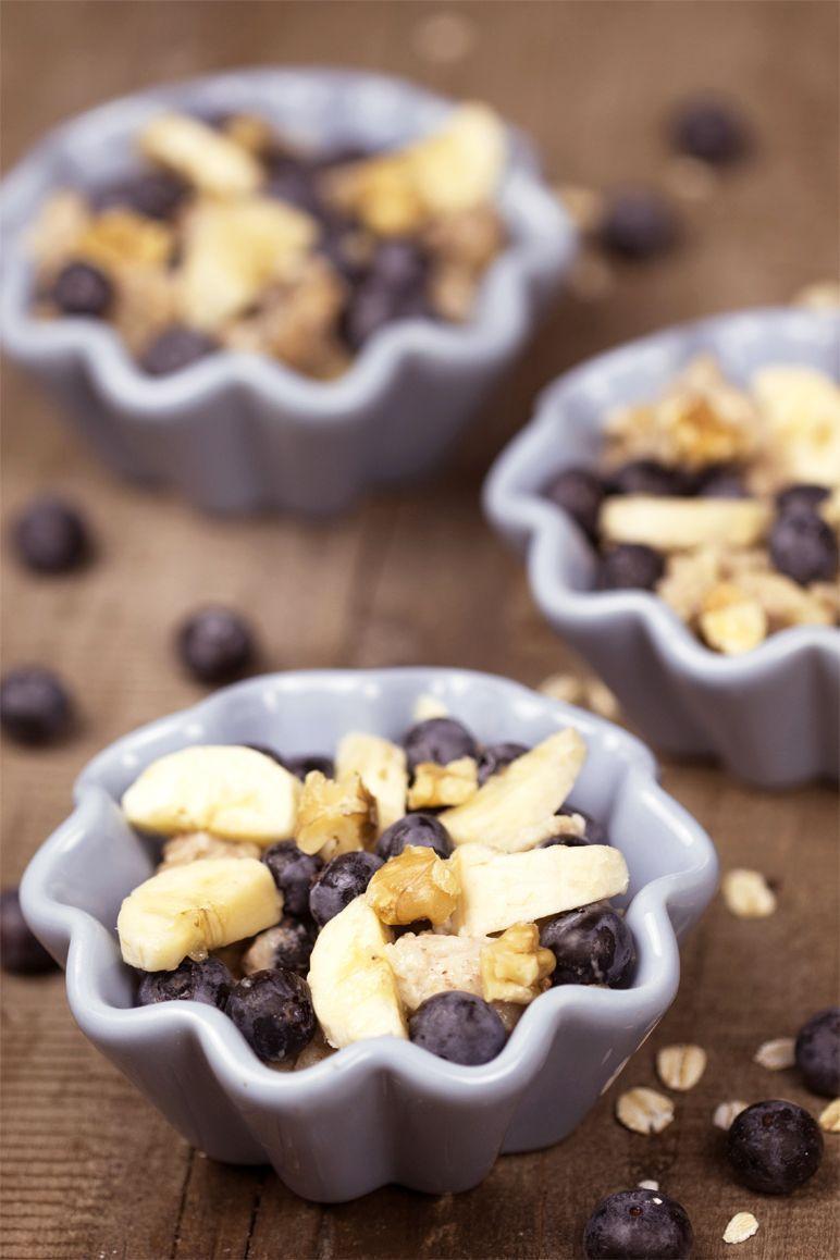 Rezept für Kokos-Porridge mit Heidelbeeren I Foodblog www.foodandfeelings.de