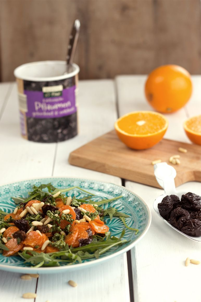 Rezept I lauwarmer-Möhren-Pflaumen-Salat by dinchensworld.de