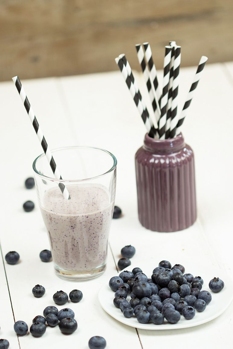 rezept heidelbeer-smoothie by dinchensworld.de