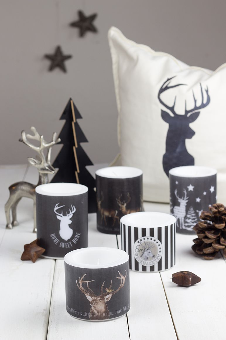 Lampion-Kerzen von Life & Living - Give Away Weihnachts-Kollektion
