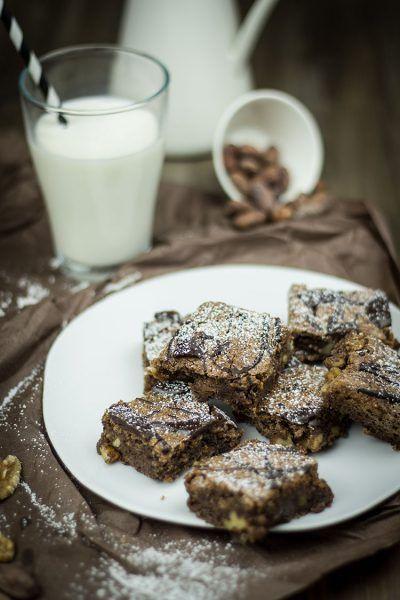 Walnuss-Brownies – Süßes für die Seele