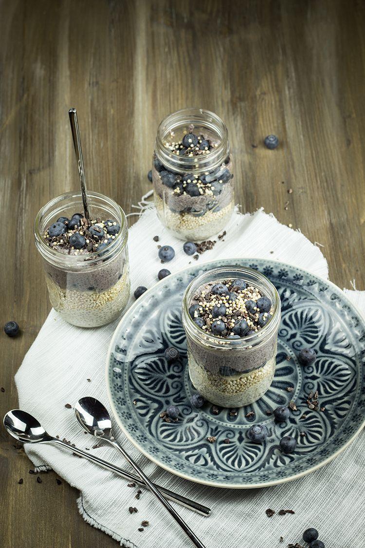 Acai-Chia-Pudding