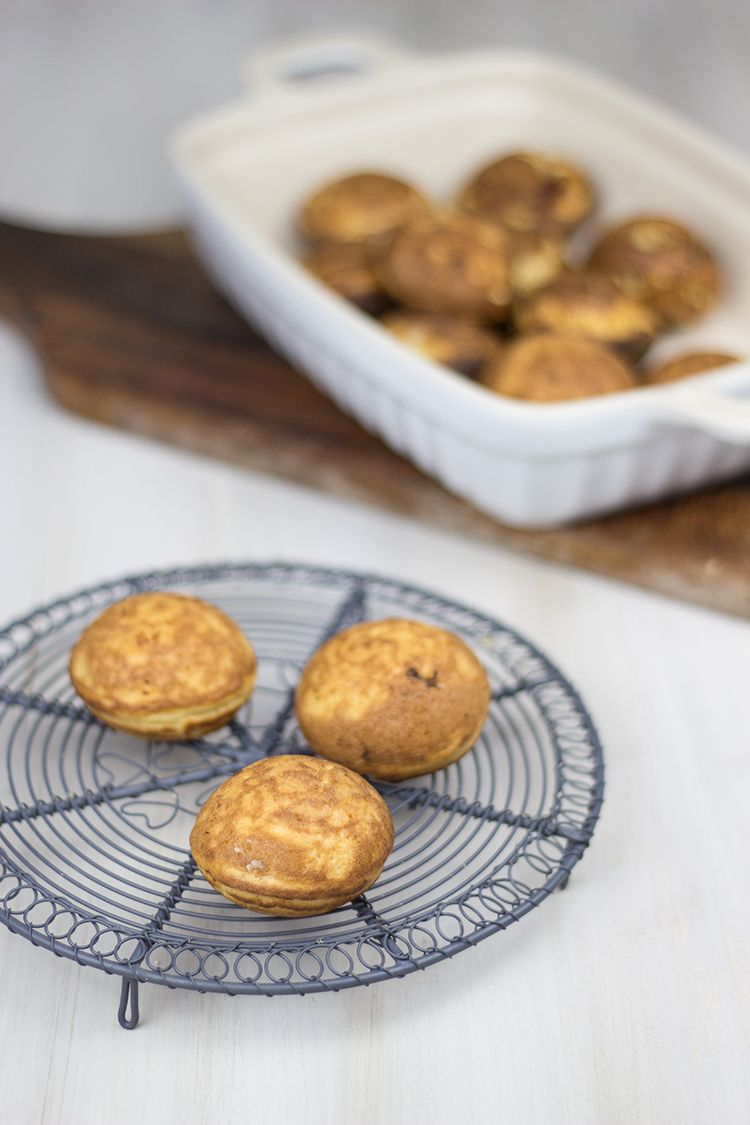 Grill-Rezept für deftige Ebelskiver mit Feigensenf