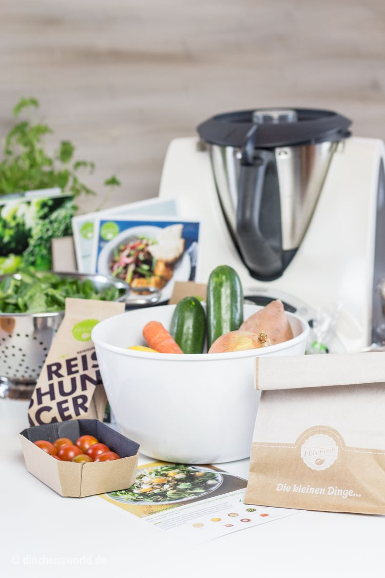 Hello Fresh Box für Thermomix