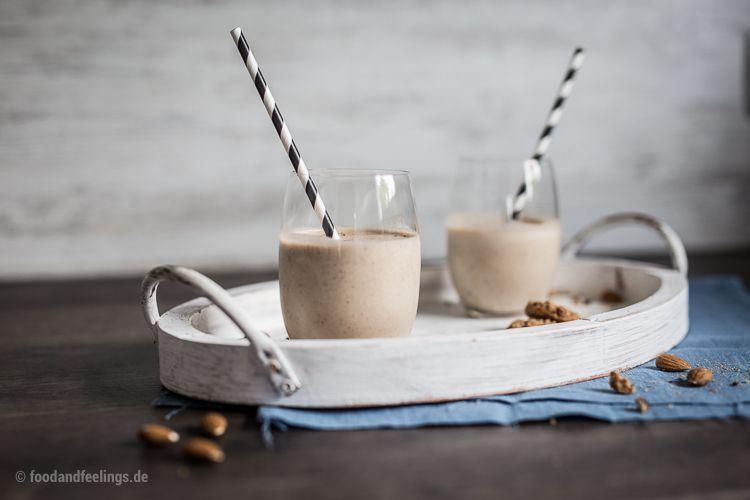 Rezept für Schoko-Mandel-Cookie Smoothie