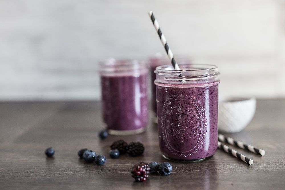 Dark Berry Smoothie