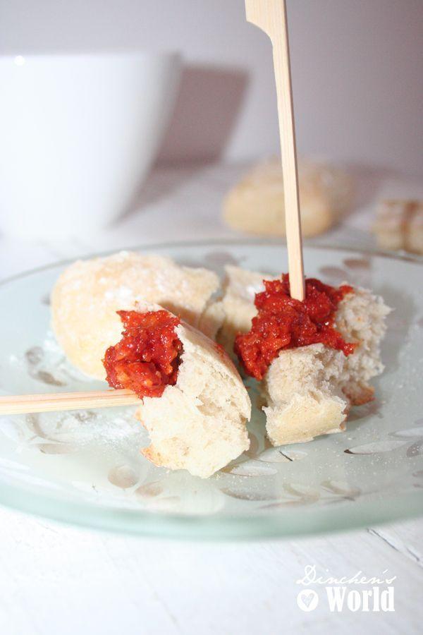 Tomaten-Mandel-Aufstrich im Thermomix