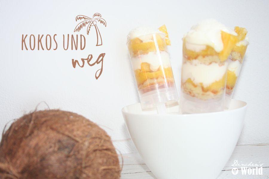 Kurumba Pina Colada als Push-up Cakepop für das Gewinnspiel Kokos und Wegby dinchensworld.de