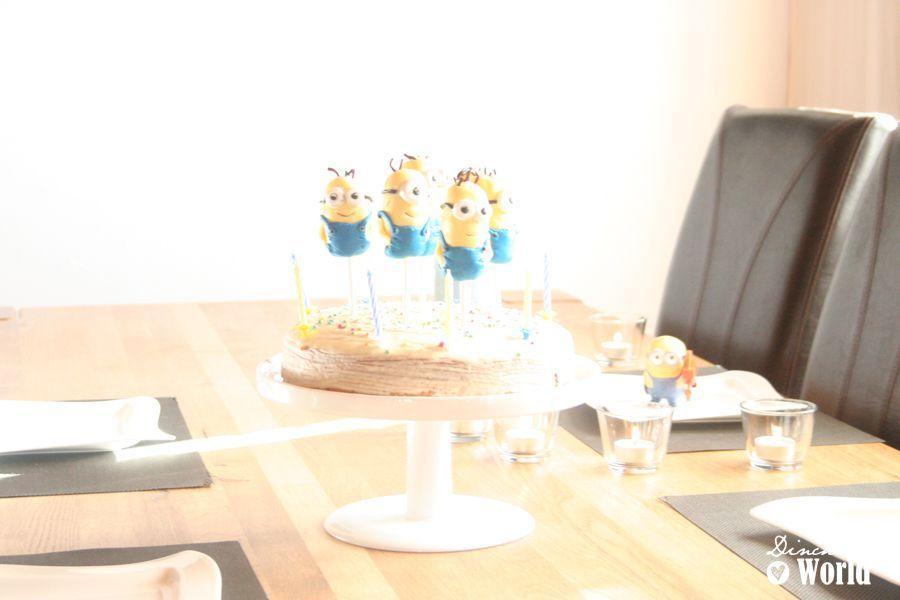 minion cakepops by dinchensworld.de