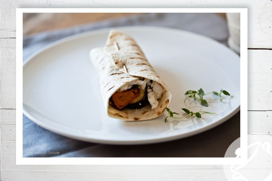 Grillgemüse-Wraps by applewood-house