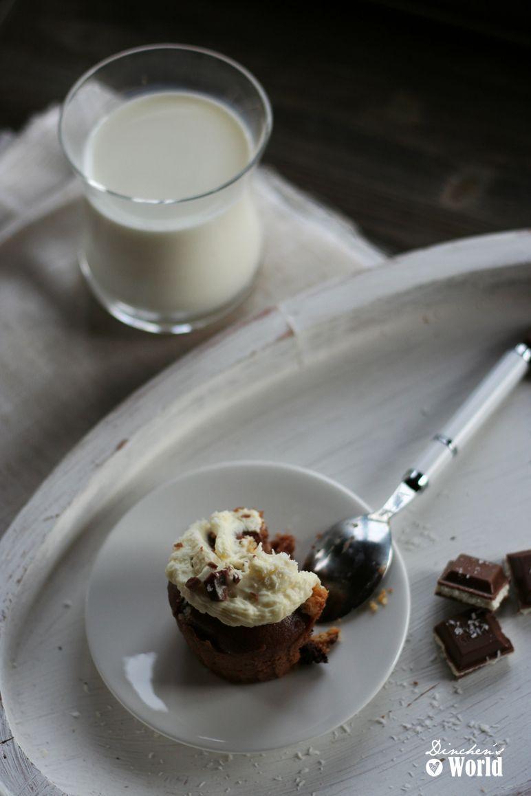 schokoladen-kokos-cupcakes by dinchensworld.de