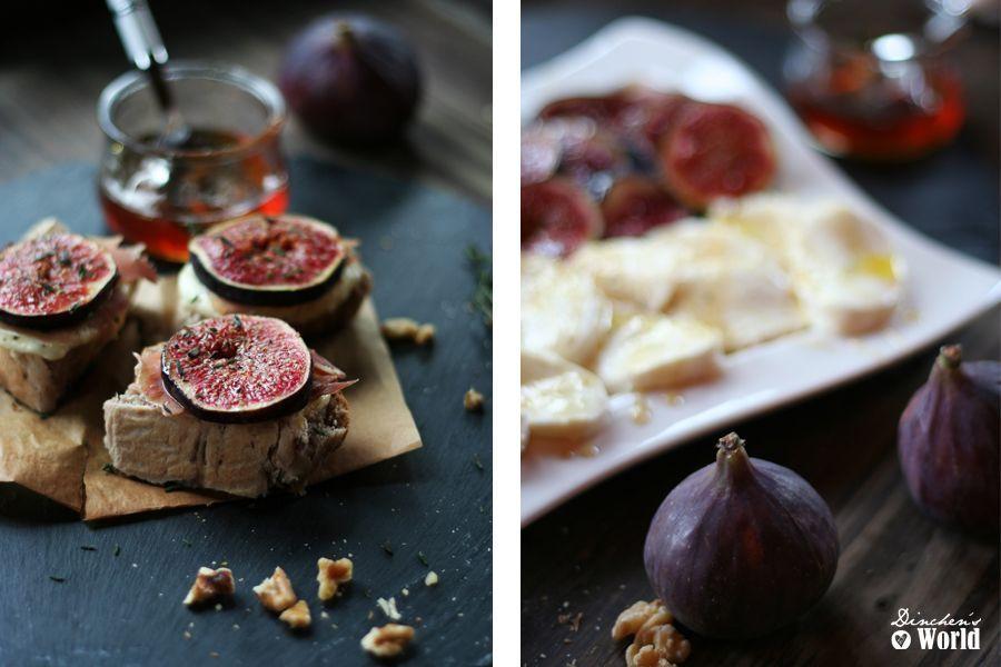 dinchensworld.de Foodblog > Rezept für Walnus-Ciabatta mit Feigen