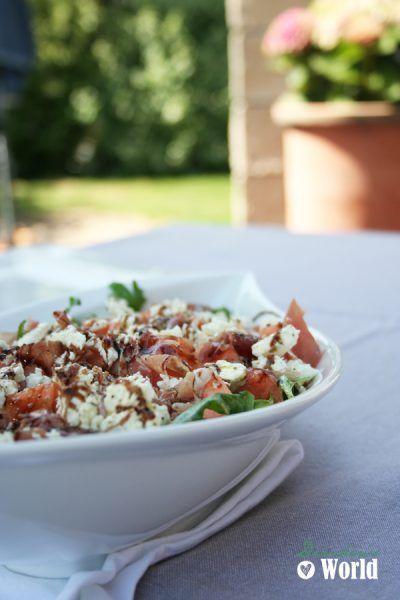 Ruccola-Feta Salat