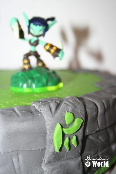 Die Skylanders-Torte