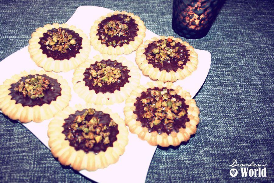 ratz fatz schokoladen tartelette cookies dinchen s food feelings. Black Bedroom Furniture Sets. Home Design Ideas