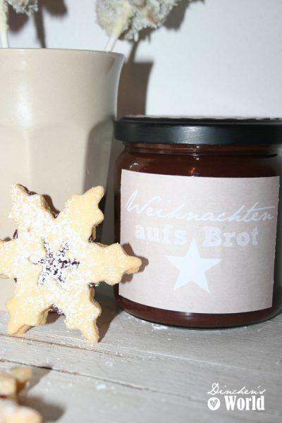 Schoko-Spekulatius-Aufstrich & Weihnachts-Cake-Pops