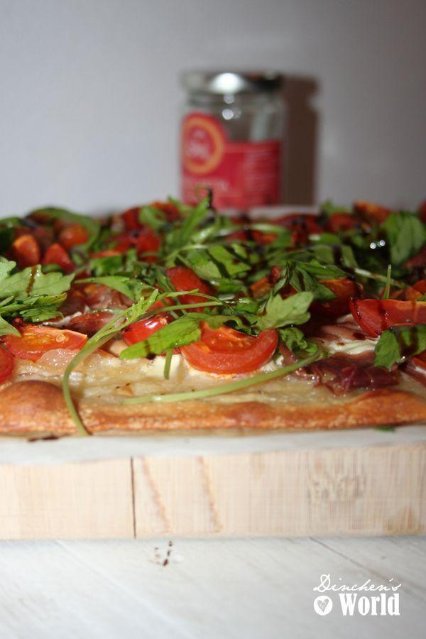 italienischer Flammkuchen by dinchensworld.wordpress.com