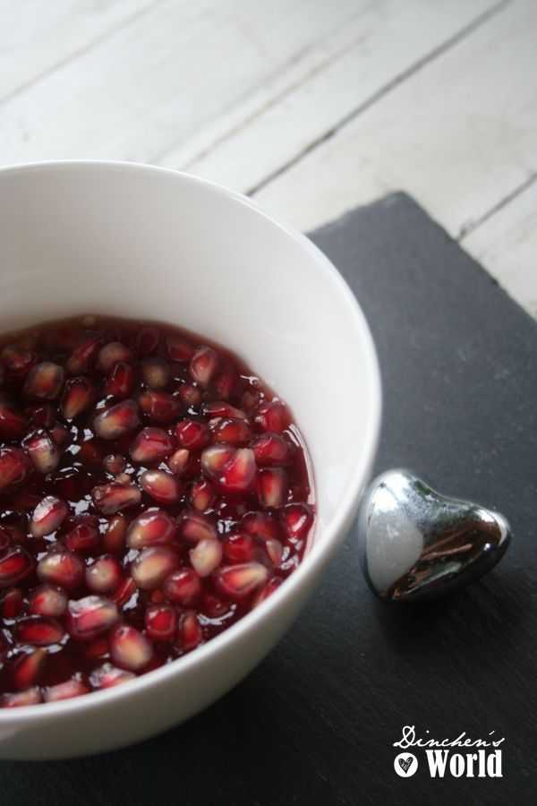 Vanillecreme mit granatapfelsoße ba dinchensworld.wordpress.com