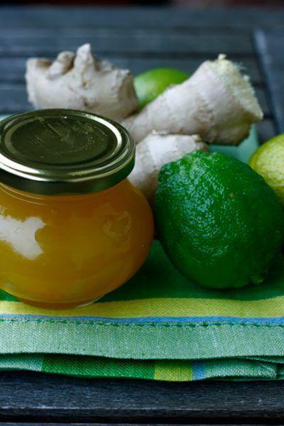 Limetten-Orangen-Marmelade mit Ingwer á la Ela