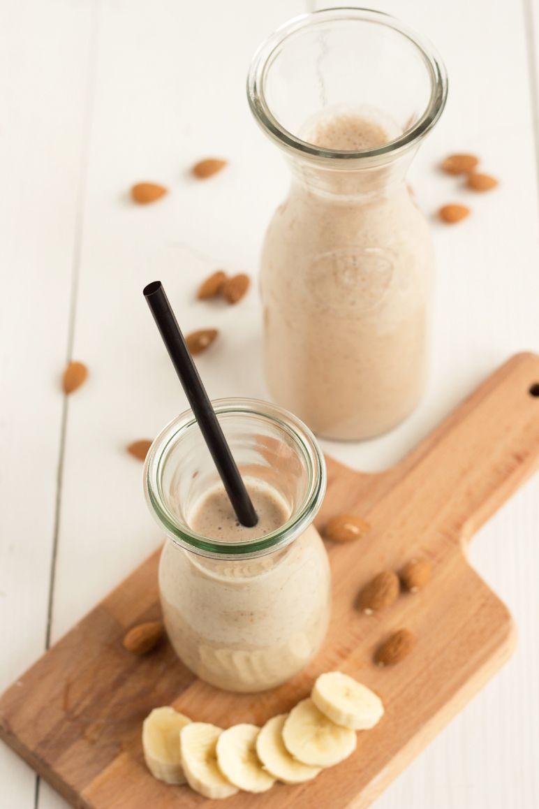 Rezept für mandel-smoothie I Foodblog dinchensworld.de