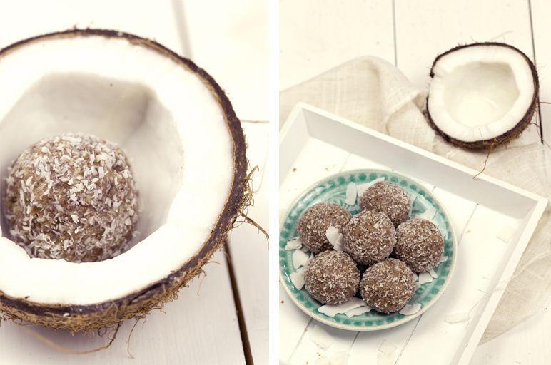 coconut energy balls I foodblog www.foodandfeelings.de