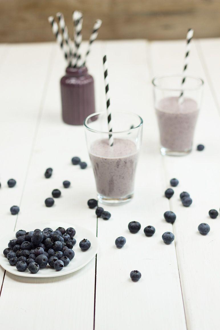 rezept heidelbeer-smoothie by dinchensworld.de