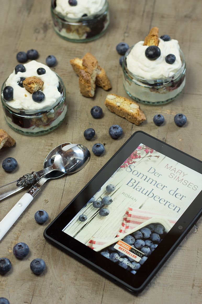 Rezept für Heidelbeer-Cantuccini-Creme I Foodblog dinchensworld.de