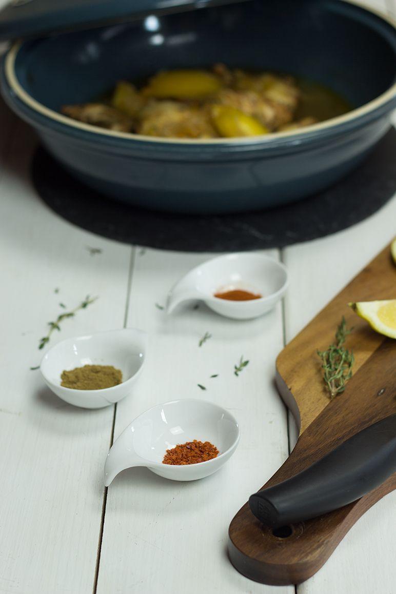 rezept hühnchen-tajjine mit Zwiebeln, Honig, Minze und Thymian by dinchensworld.de