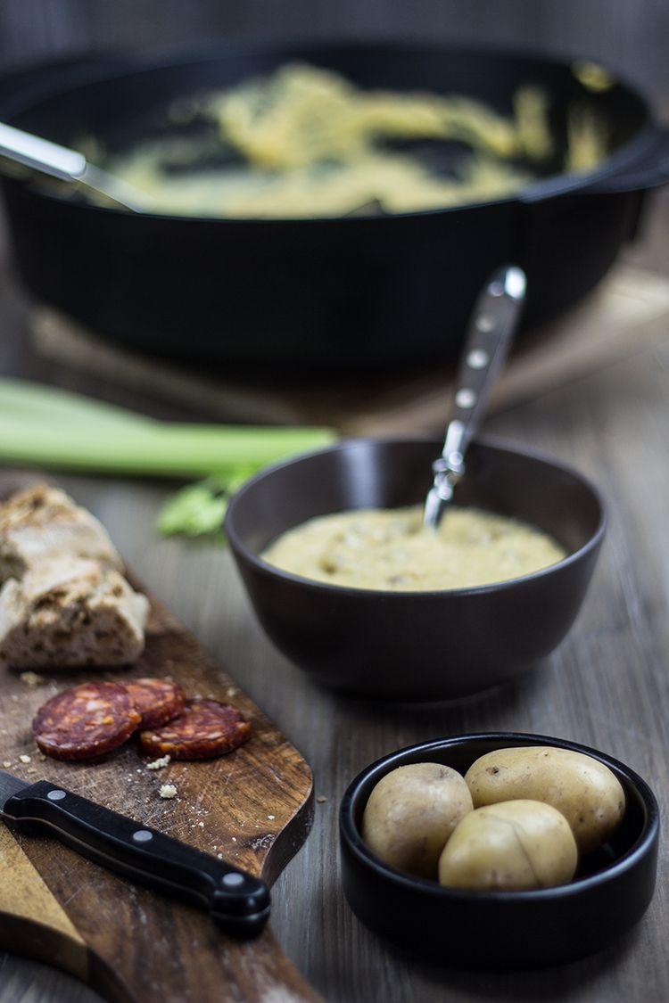 Rezept Kartoffelsuppe vom Grill