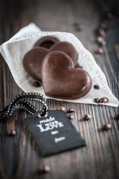 Espresso-Herzen – Süßes zum dahinschmelzen