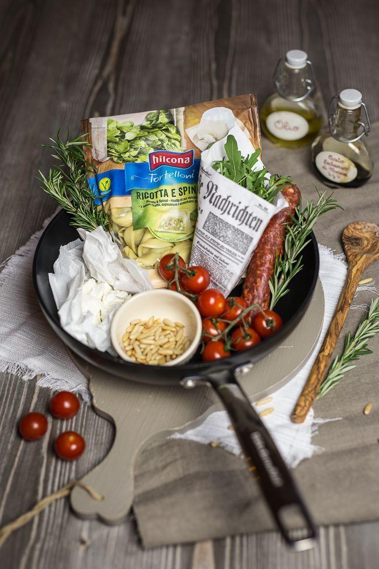 tortelloni mit kirschtomaten und chorizo by foodandfeelings.de